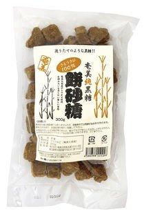 奄美 純黒糖餅砂糖 300g×2個          JAN:4580388551098