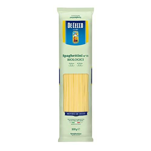 ディ・チェコNo.11 スパゲッティーニ オーガニック (有機栽培パスタ)500g ×4袋