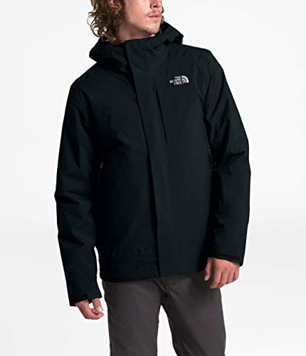 The North Face Men's Carto Triclimate Jacket, TNF Black/TNF Black, Large