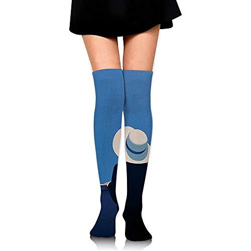 Crew Sokken Op zoek Verre Jurk Kleurrijke Lange Sokken Boot Voorraad Knie Hoge Sokken Mode Zachte Vrouwen Compressie Sokken Hardlopen Cosplay Comfortabele Casual Party