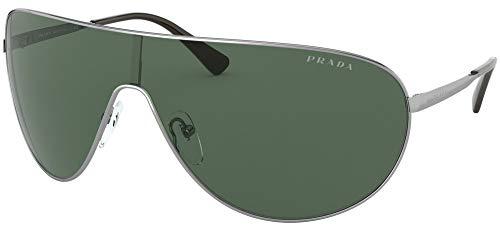 Prada Gafas de Sol CATWALK PR 55XS RUTHENIUM/GREEN 42/14/120 hombre