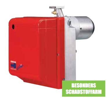 RIELLO Gulliver BS1 1-stufig 16-52 kW Low NOx Gas-Gebläsebrenner