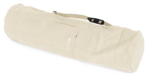 Yogistar Sac pour Tapis de Yoga 75 cm Blanc Blanc Naturel