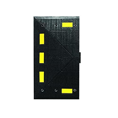 Checkers 90 cm x 50 cm, negro/amarillo.