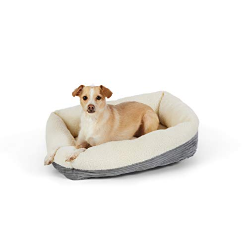 Amazon Basics Rectangle Self Warming Pet Bed For Cat or Dog, 24 x 7 x 20 Inches