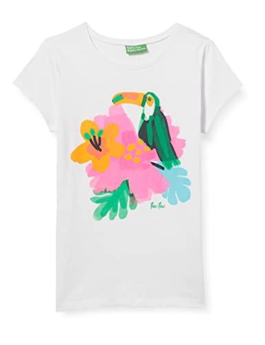 Tuc Tuc Camiseta Punto Paraiso, Blanco, 10A para Niñas