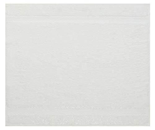 Betz Serviette débarbouillette Lavette Taille 30 x 30 cm 100% Coton Premium Couleur Blanc