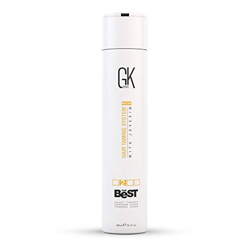 Mondial Kératine GKhair Le meilleur 300ml professionnel défrisage, Lissage Kératine traitement pour Silky, lisse Cheveux naturels - Nouvelle formule