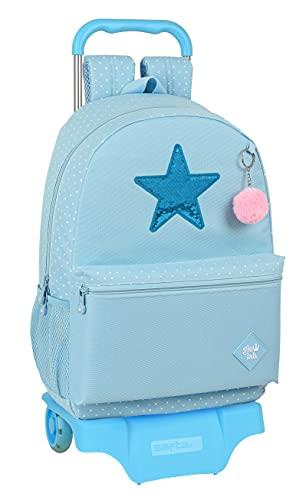 Glowlab Mochila Safta Escolar Grande con Carro Safta 905 Star, 300x140x460 mm