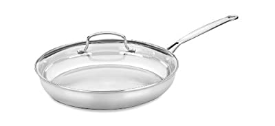 Cuisinart 722-30G Chef's Classic 12-Inch Skillet with Glass Cover