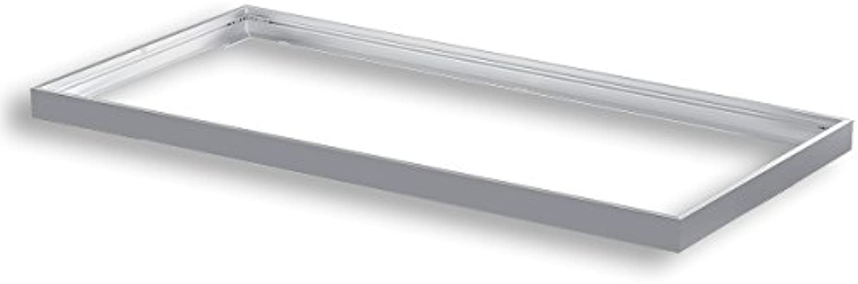 Aufputzrahmen S10126 für 1195x595 LED PANEL Aufbau Anbau Aufputzrahmen Aufbaurahmen Anbaurahmen