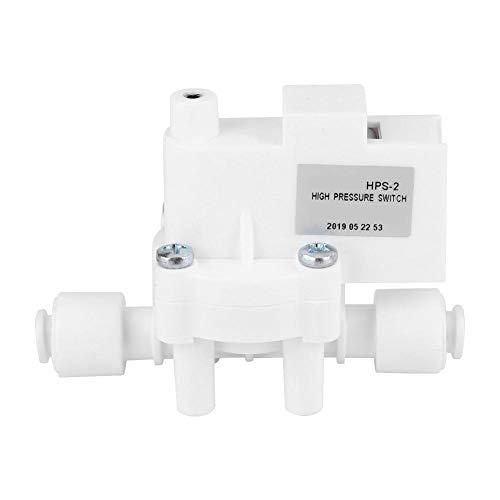 Jadeshay 1 4  DC 24V 0,25MPa pressostato di Alta Pressione for la Pompa ad Acqua del RO Fitlers osmosi inversa Serbatoio di Acqua Depuratore