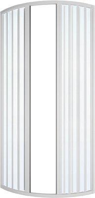 Originele Trade douchecabine Circolare A vouwbalg mod. Ilaria Lux cm 75 x 75 DianFlex