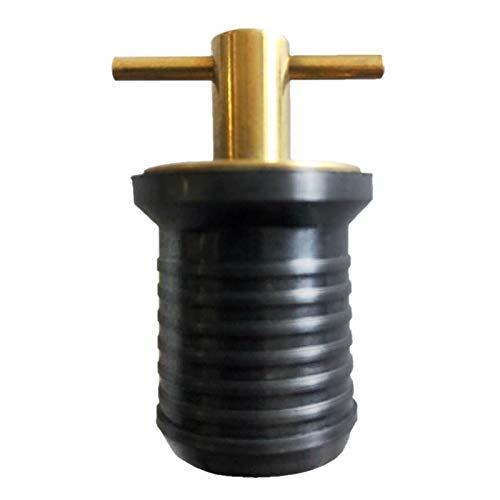 Ferramenta marina Plug d'acqua in barca universale regolabile integrale wont perdita di ottone...