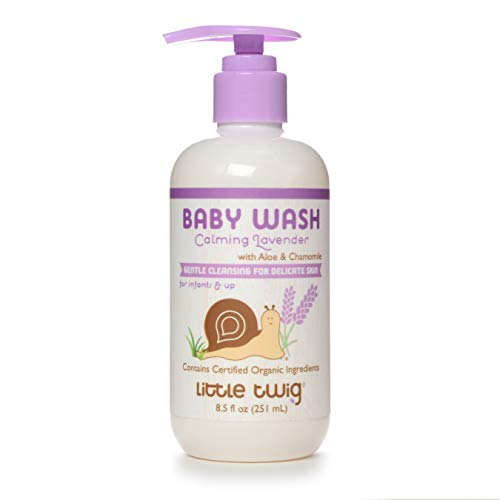 Little Twig All Natrual Baby Wash, Lavender, 8.5 Fluid Oz