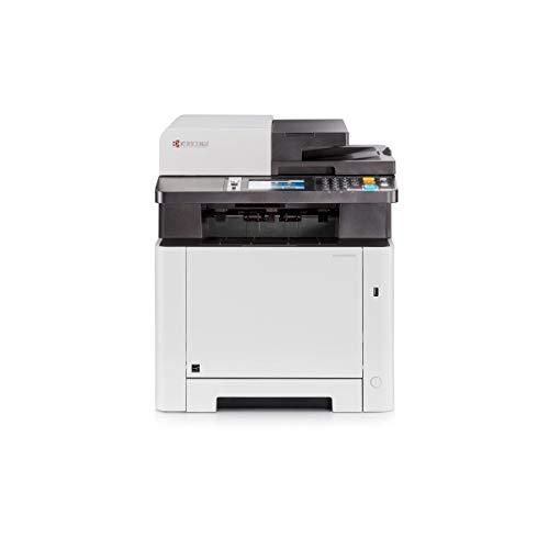 Kyocera Klimaschutz-System Ecosys M5526cdw Farblaser Multifunktionsdrucker (Drucker, Kopierer, Scanner, Faxgerät. Inkl. Mobile-Print-Funktion)