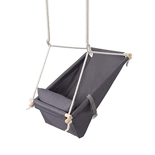 Multifunctional Baby Hanging Swing 2in1 Cradle and Crib | Hanging Cradle Baby Made of Cotton Modern Design | Child Swing with Frame from 25 kg | 100% ECO | Made in EU