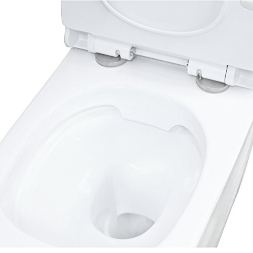 LAVITA KERAMIK HÄNGE-WC-TOILETTE #99870 SPÜLRANDLOS + SOFT-CLOSE SLIM - 3