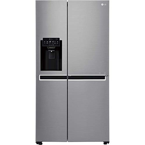 LG GSL760PZXV 601 Litre American Style Fridge Freezer Frost Free Ice Dispenser 2 Door 91cm Wide - Silver