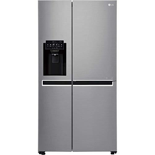 LG GSL760PZXV 601 Litro American Style Frigorifero freezer Ice Dispenser 2 Porte 91 cm Larghezza - Argento