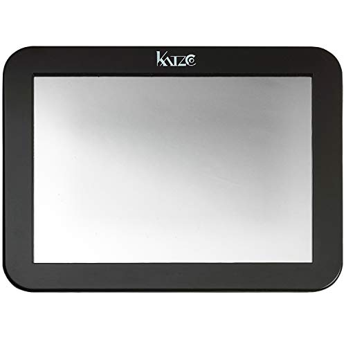 Katzco Magnetic Mirror - 1 Pack - 5 x 7 Inches – for School Locker, Refridgerator, Home, Workshop, Office Cabinet, Shaving, Indoors, Outdoors, Camping, Cars, Bathrooms, and More