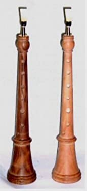 DULZAINA - Charkum (22006) Madera Bubinga (Afinada en Sol) Completa Con Tudel y Caña Superior