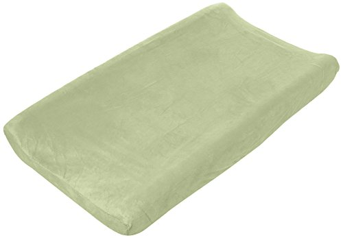 Product Image of the Summer Ultra Plush Changing Pad Cover, Sage