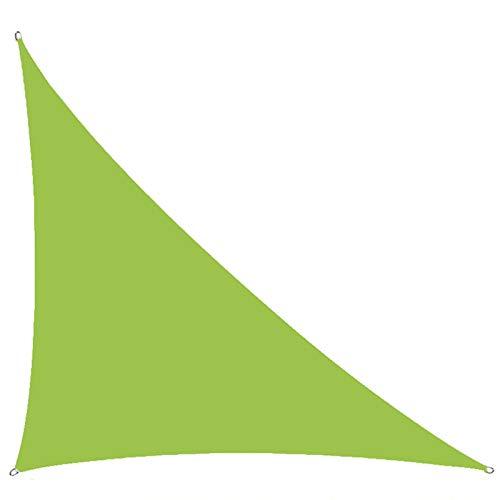 MJJYS Sombra Triangular de Sombra, Tono Solar Anti-Ultravioleta, Adecuado para jardín al Aire Libre y Patio solantico toldo,3 * 4 * 5m