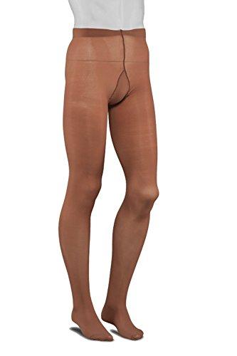 Collanto Aurel 40 Herrenstrumpfhose Männerstrumpfhose 40den (3 (L), Haut)