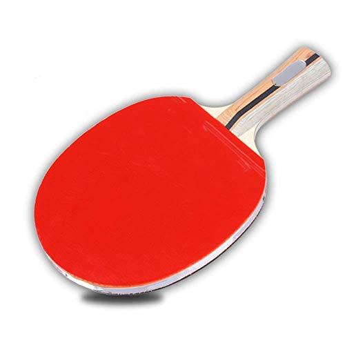 JIANGCJ bajo Precio. Ping Pong Paleta Raquetas de Tenis de la Mesa de Entrenamiento de la Mesa de la Mesa Raquetas de Tenis de un Solo Paquete de la Competencia de la Competencia en Las Raquet