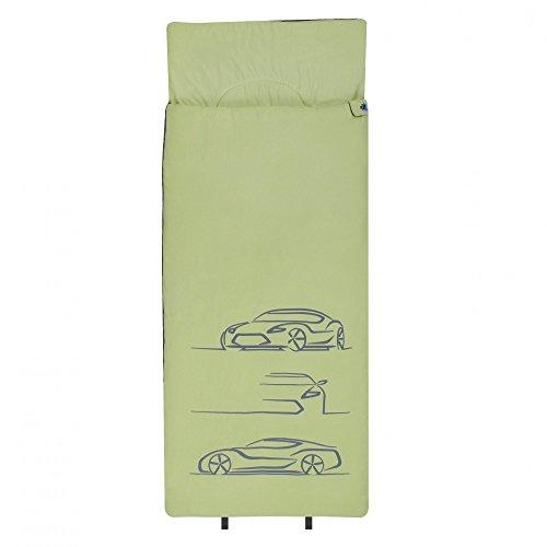 10T Outdoor Equipment Enfants Car Gigoteuse, Vert, XL