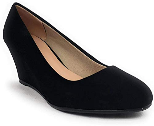 Forever Doris-22 Wedges Pumps-Shoes mve Shoes Doris 22 black02 Size 11