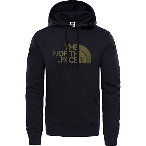 The North Face A0TE Sudadera, Hombre, Negro (TNF Black/New Taupe Green), XS