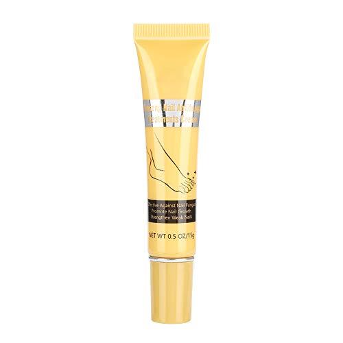 15g Crema natural para el cuidado de las uñas Crema de eliminación Esterilización a base de hierbas Tratamiento para antimicótica de máxima potencia Crema para cutículas de mantequilla