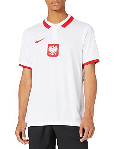 Nike Poland 2020 Stadium Home Teamtrikot White/Sport Red L