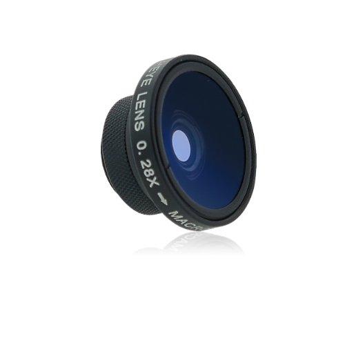 snappgrip Fisheye/Macro toevoegen op lens voor telefoons
