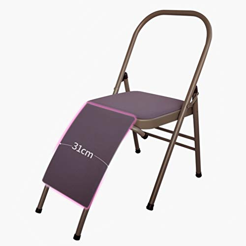 Fantastic Deal! Unbne Fitness Yoga Headstand Chair Inversion Bench Invert Safely Easily 31cm Widenin...