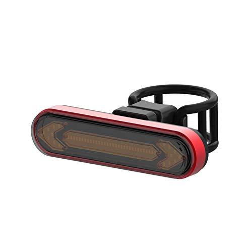 Luz Trasera Para Bicicleta Con Intermitentes Y Luz De Freno Automática Control Remoto Inalámbrico Luz Trasera Para Bicicleta Luz Trasera Usb Recargable Luz De Seguridad Para Ciclismo Para Conducción