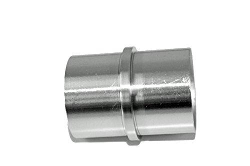 Edelstahl V2A Rostfrei Rohrverbinder mit Mittelsteg für Rohr 42,4 x 2,0 mm Fitting