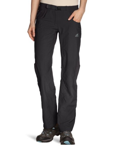 adidas, Pantaloni da trekking Donna, Grigio (titan grey), 36