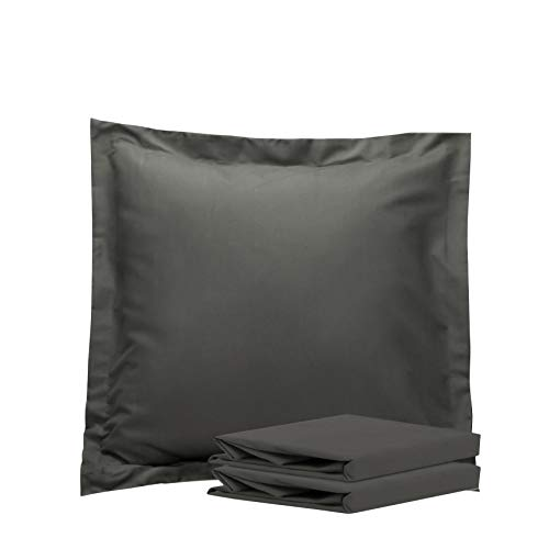 NTBAY 100% Brushed Microfiber European Square Throw Pillow...
