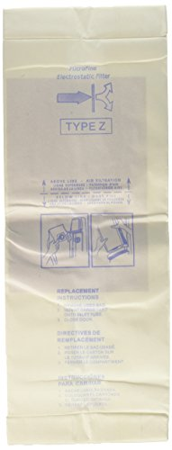 Hoover Vac Type Z Vacuum Bags Microfiltration with Closure -10 Pack