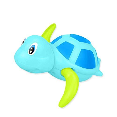 HNLSKJ Juguete de baño de bebé, Tortugas flotantes for Juguetes de Agua for niños pequeños for niños pequeños. ggsm (Color : Blue)