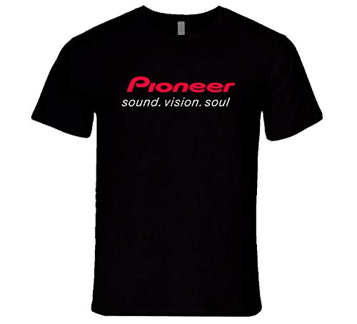 New Pioneer Pro Dj Party Techno Music EDM Nexus 2000 Ddj Djm Cdj Black T-Shirt