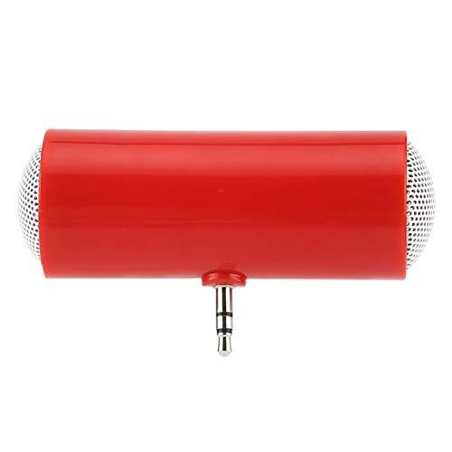 Tellabouu for Tragbarer zweikanaliger Mono-Lautsprecher mit 3,5-mm-Klinkenstecker-Audiolautsprechern für Handy-Tablet-Computer