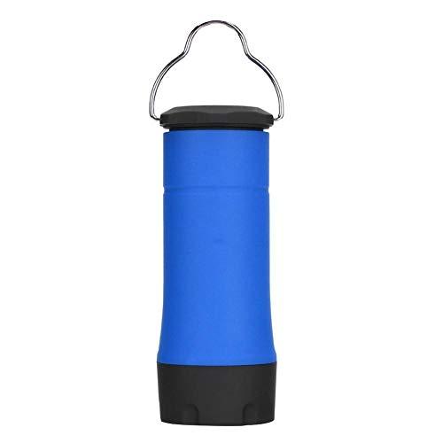 Redxiao Lámpara Impermeable para Tienda de campaña Que Ahorra energía, luz LED para Exteriores, Resistente y Duradera para Acampar, Viajar, gabinete para el hogar(Blue)