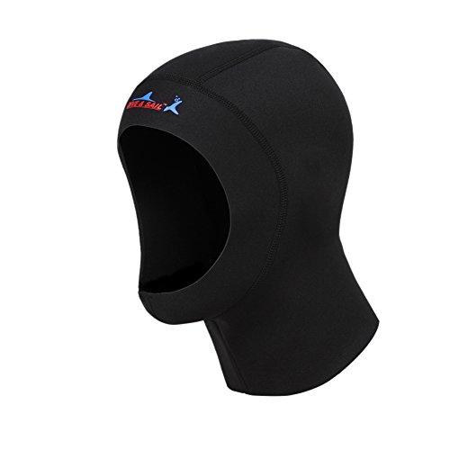 EFINNY 1/3 mm Neopreno Diving Sport Cap Hat Hoods Hombres Mujeres Protección Solar de Invierno Natación Surf Traje de Neopreno Accesorios