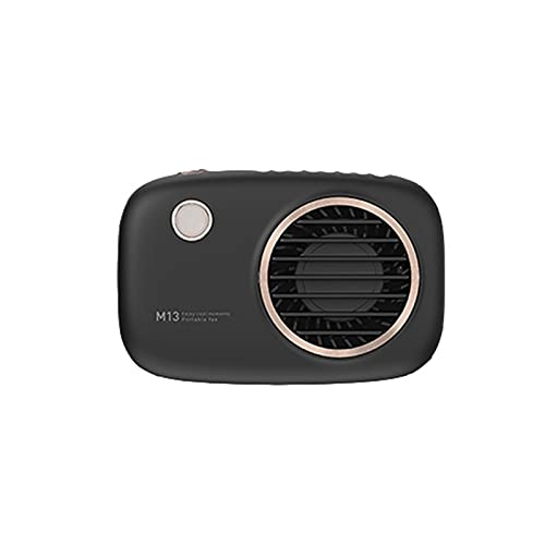 JKLJL Mini Ventilador,Innovador Ventilador de cámara,Ventilador USB,Ventilador eléctrico sin Hojas,Apto para Exteriores,Oficina de Estudio,Compras,etc,Blanco,Rosa,Negro.