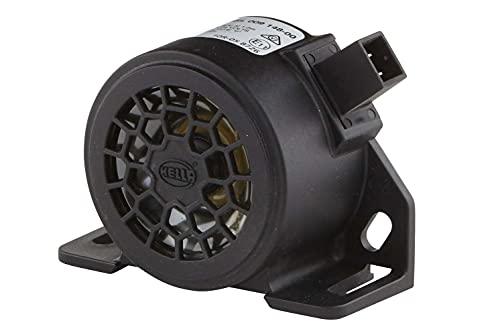 HELLA 3SL 009 148-001 Rückfahrwarner - 90dB(A) - Frequenzbereich: 1200Hz - geschraubt - Stecker: AMP - Menge: 1