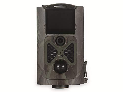 PREMIUMBLUE WC-1601, 16MP, FullHD 1080p Wildkamera, Wasserdicht, mit Infrarot Nachtsicht,für Hof und Gartenüberwachung
